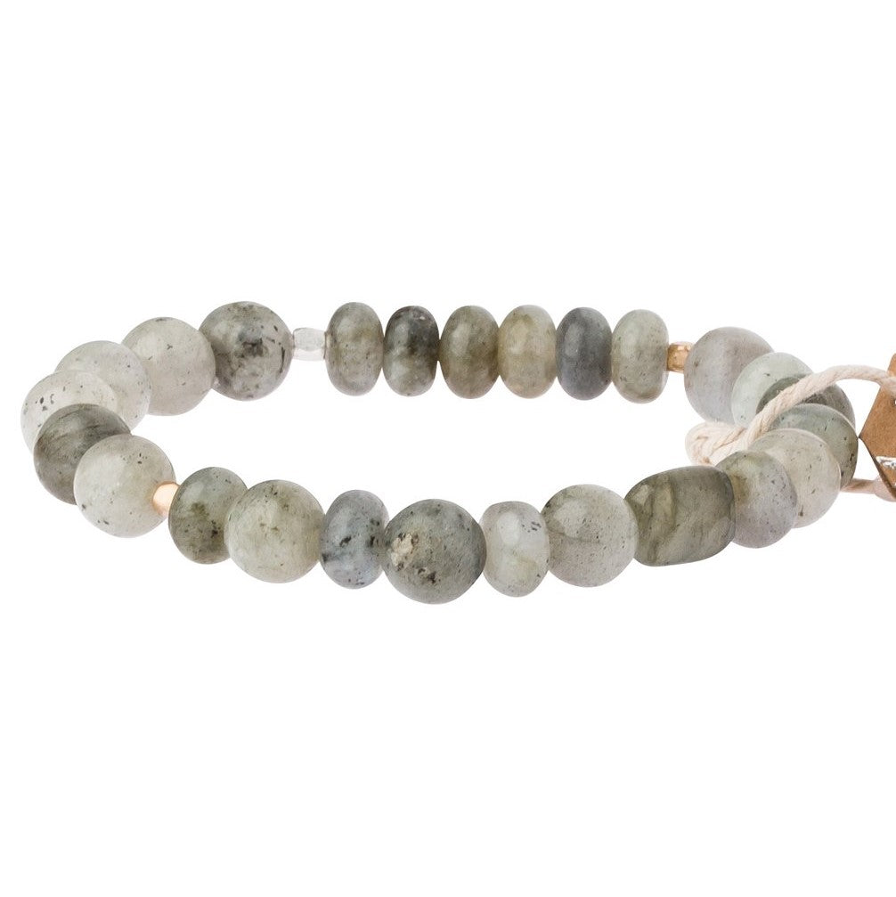 Labradorite Stone Bracelet-Stone of Magic (SS012)