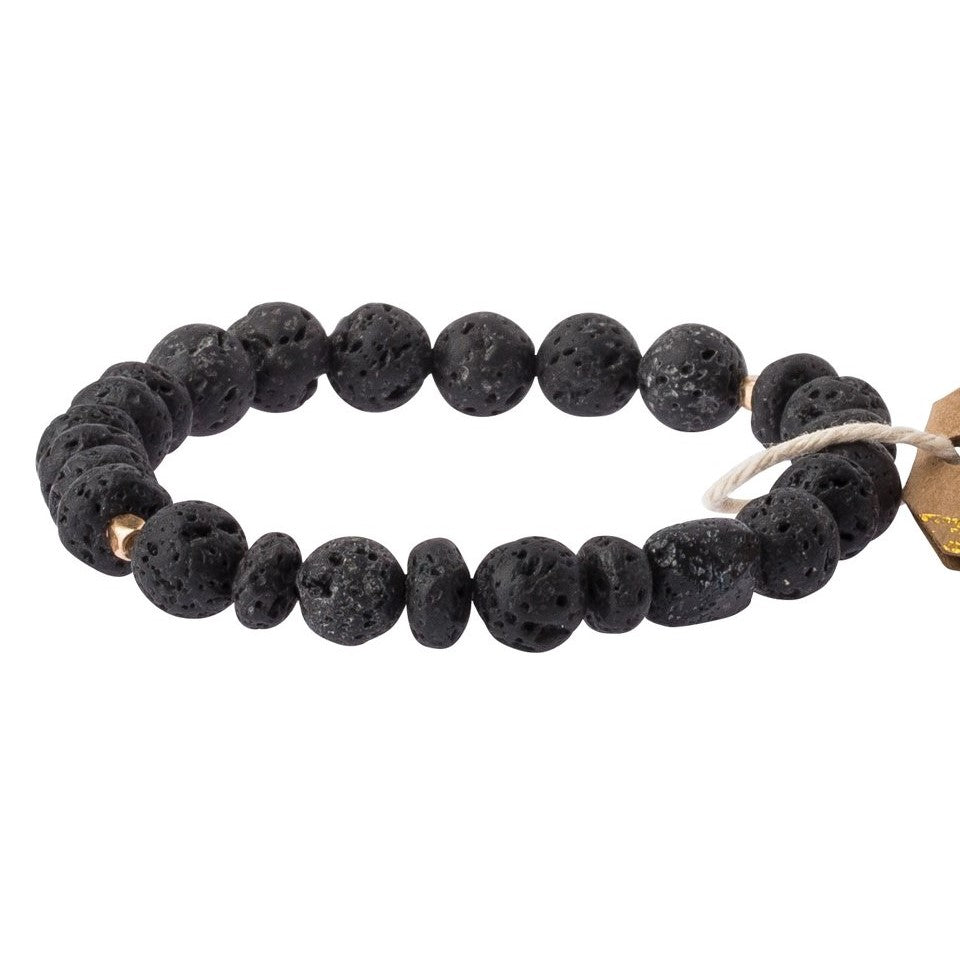 Lava Stone Bracelet-Stone of Strength (SS002)