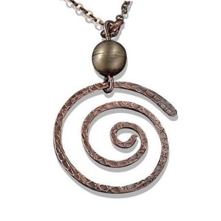 Banjara Swirl Necklace (N3119AC)