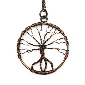 Twisted Tree of Life Necklace (N3136)