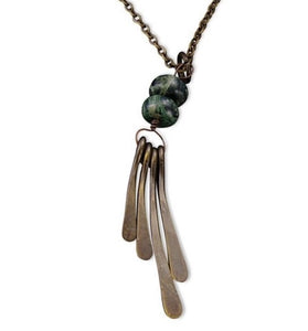 Kambaba Jasper Harmony Necklace (N3202)