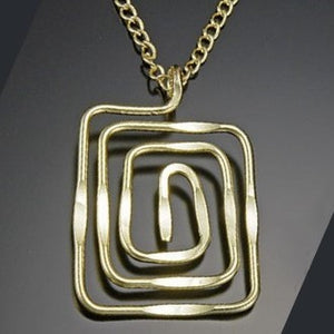 Gold Tidepool Necklace (N373LG)