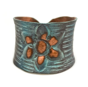 Copper Patina Ring 282 (RP282)