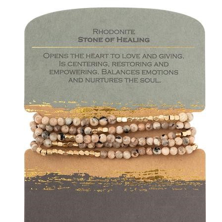 Rhodonite - Stone of Healing SW042