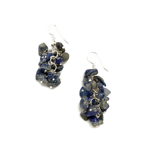 Lapis Spirit Stone Earrings (SSE1L)