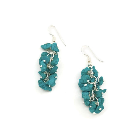 Turquoise Spirit Stone Earrings (SSE1TQ)