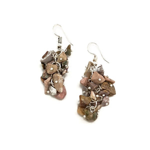 Unakite Spirit Stone Earrings (SSE1U)