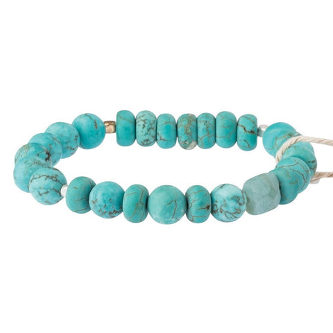 Turquoise Stone Bracelet - Stone of the Sky (SS001)