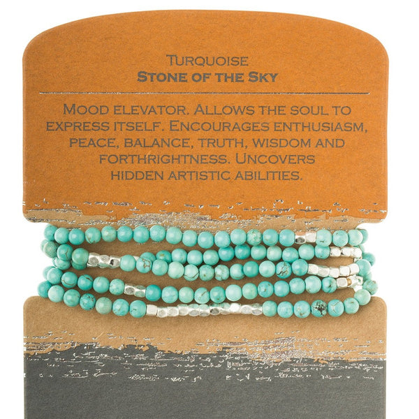Turquoise/Silver - Stone of the Sky (SW006)