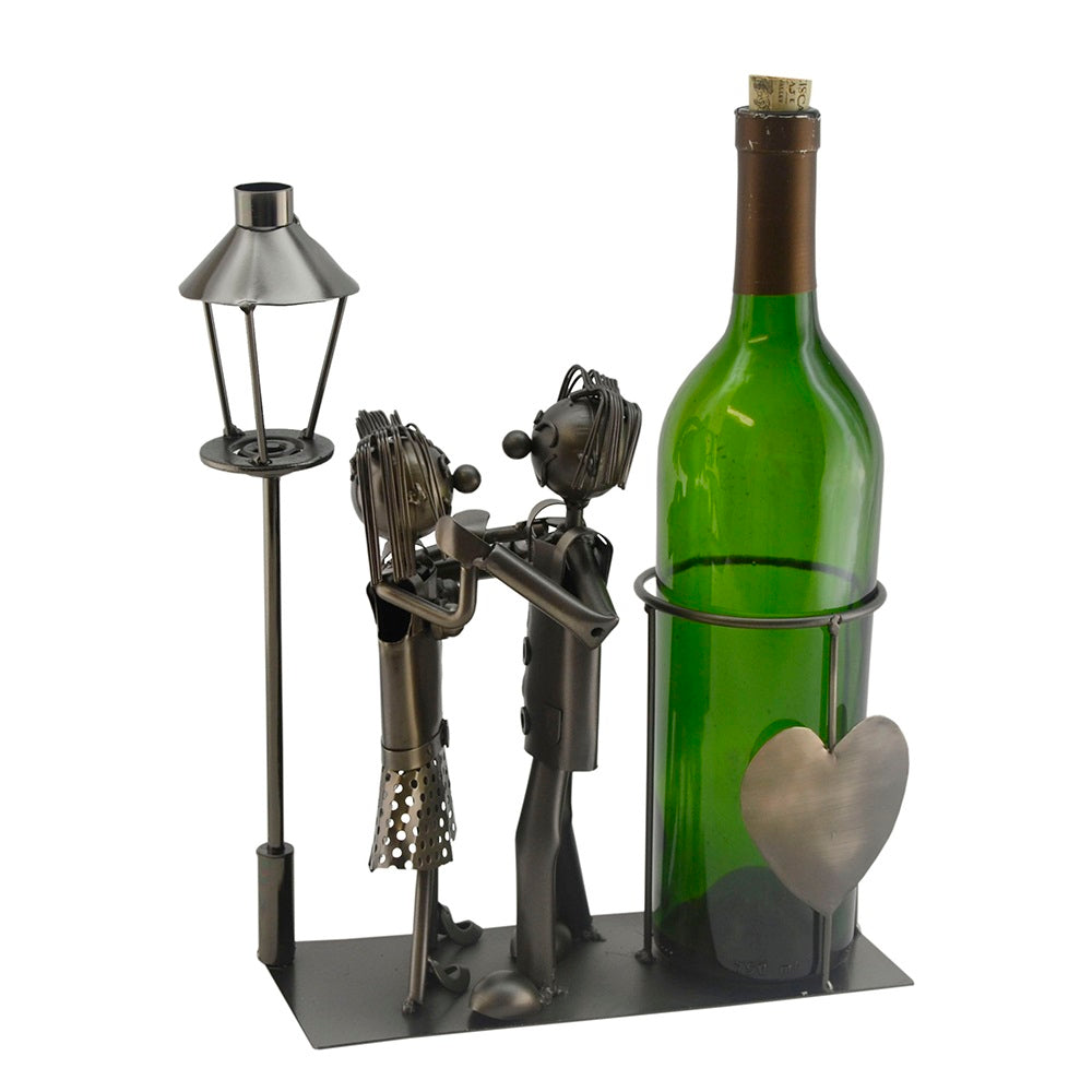 Lovers by Light Post Wine Holder (ZB1180)