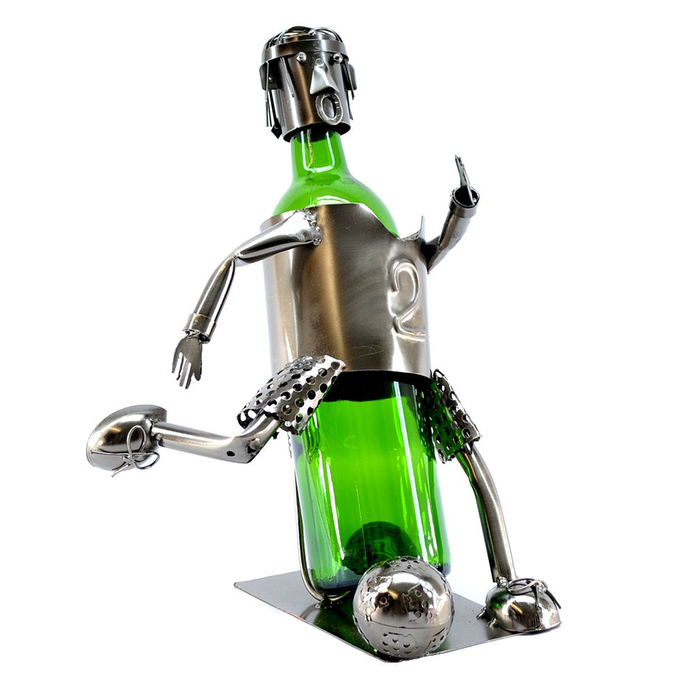 Soccer Player Wine Holder (ZB140)