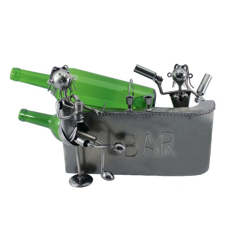 Couple at the Bar Wine Holder (ZB2170)