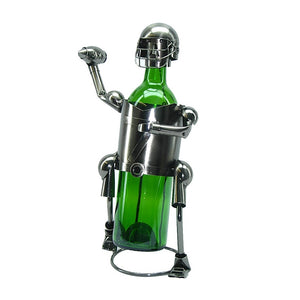 Football Player Wine Holder (ZB610)