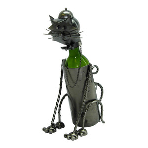 Sitting Cat Wine Holder (ZB705)