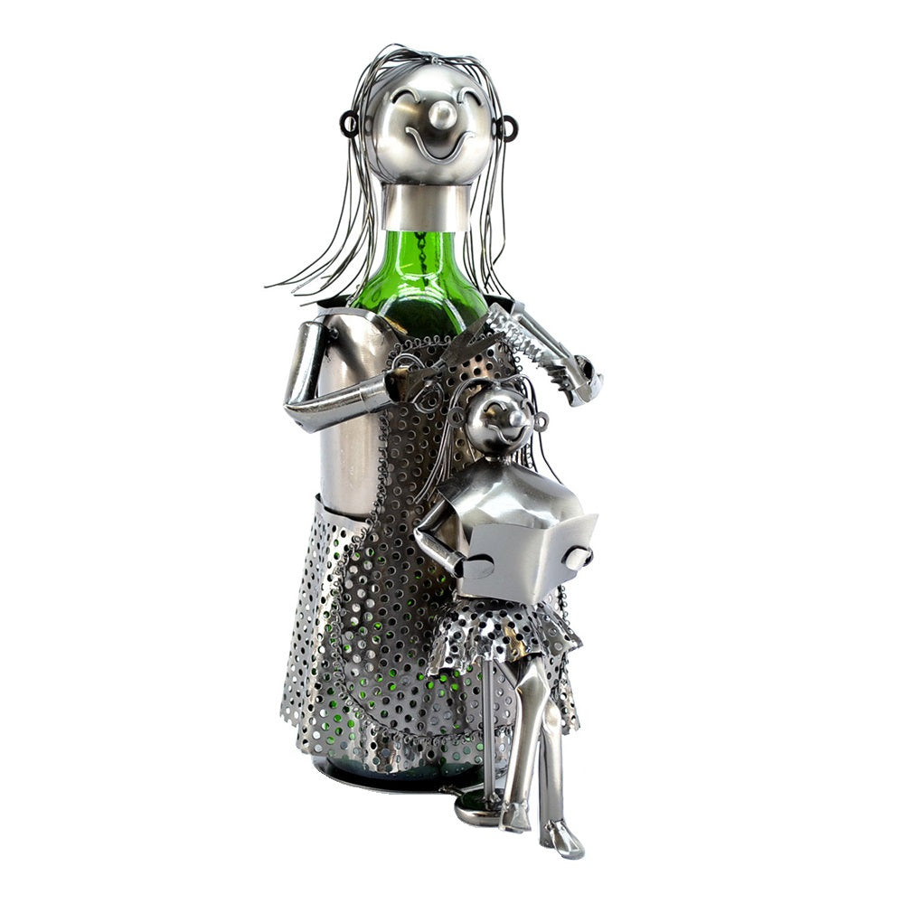Lady Hair Dresser Wine Holder (ZB960)