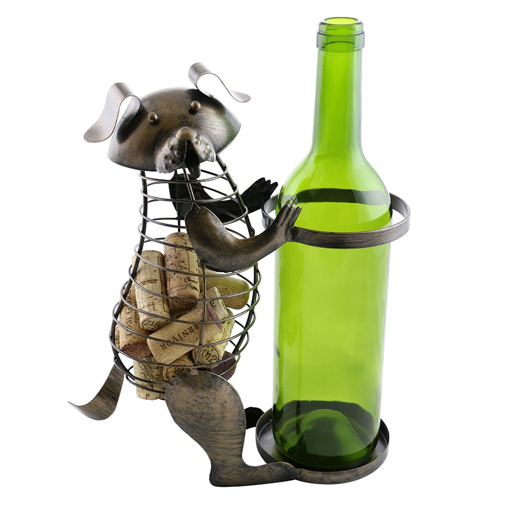 Dog Bottle and Cork Holder (ZL700)
