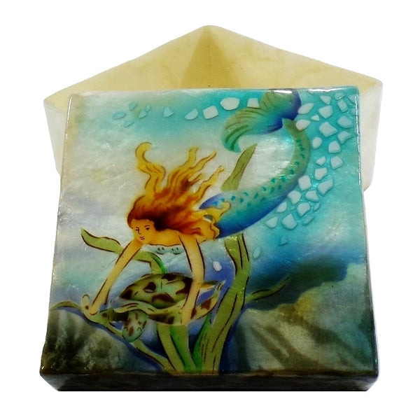 Large Mermaid Trinket Box (1202)