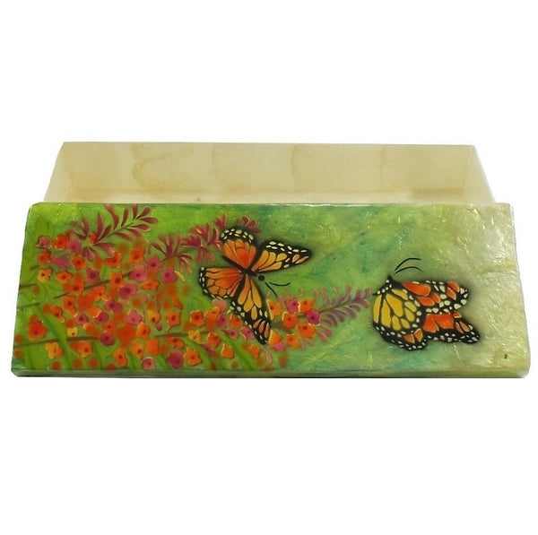 Long Butterfly Trinket Box (1286)