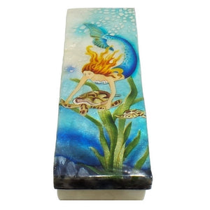Long Mermaid Trinket Box (1287)