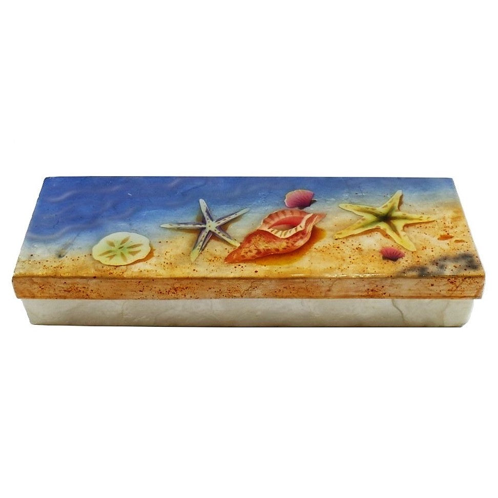 Long Sea Shell Trinket Box (1280)