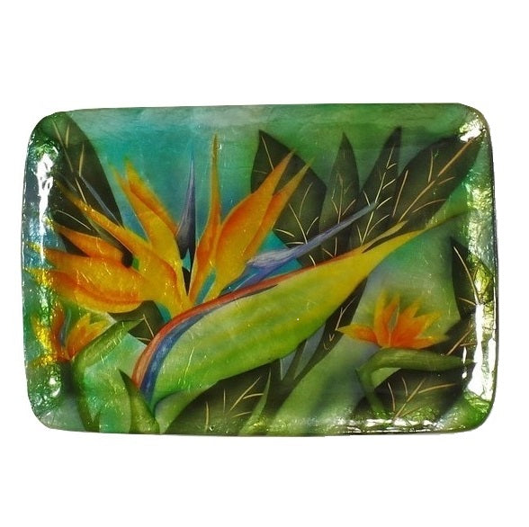 Medium Bird of Paradise Tray (1629P)