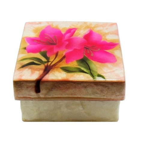Small Azalea Trinket Box (1269)