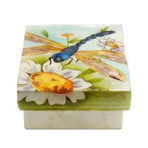 Small Dragonfly Trinket Box (1207)