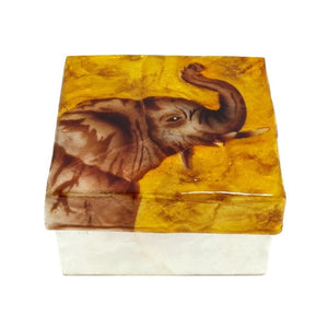 Small Elephant Trinket Box (1553)