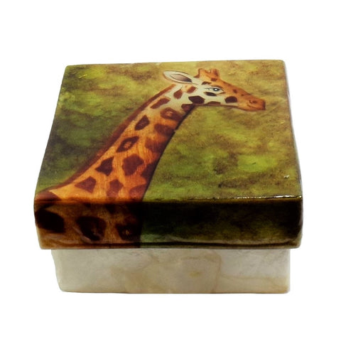 Small Giraffe Trinket Box (1555)