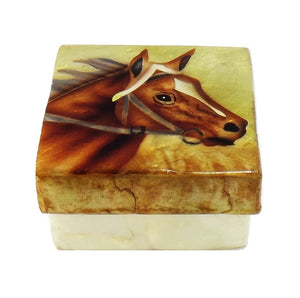 Small Horse Trinket Box (1508)