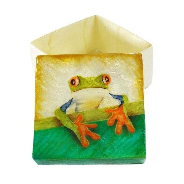 Tree Frog Small Trinket Box (1214B)