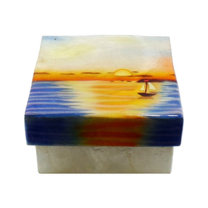 Small Sunset Trinket Box (1577)