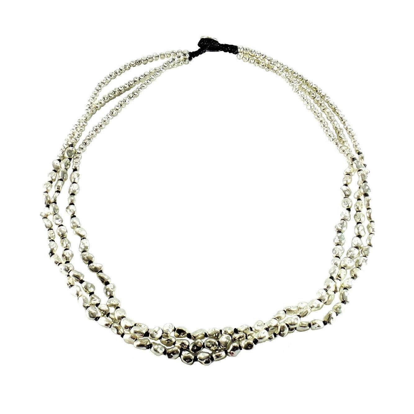 Alloy Specialty 3 Strand Necklace
