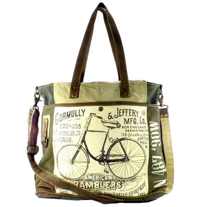 American Ramblers Tote with Strap (55619)
