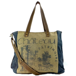 Chateau Shoulder Tote with Strap (55622)