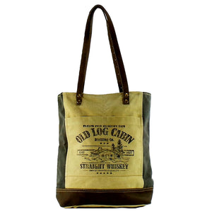 Old Log Cabin Tote (55963)