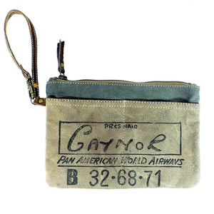 Pan Am Clutch with Strap (55902)