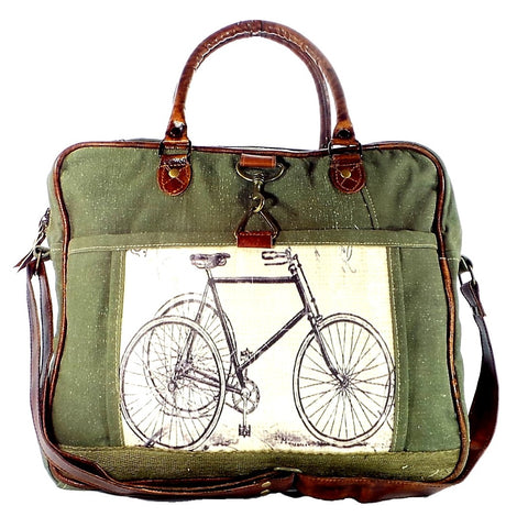 Green Bicycle Bag (55924)