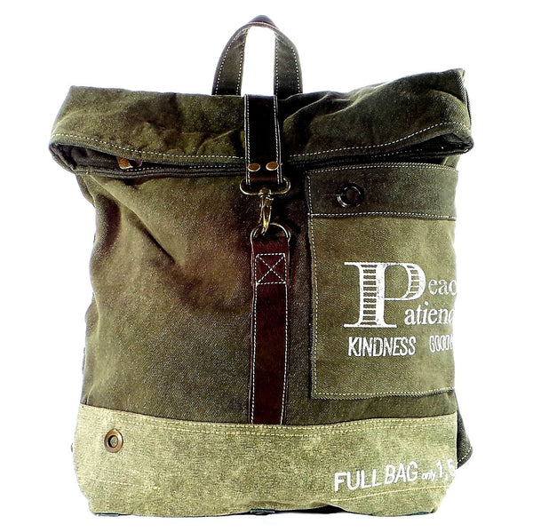 Peace and Patience Backpack (55991)