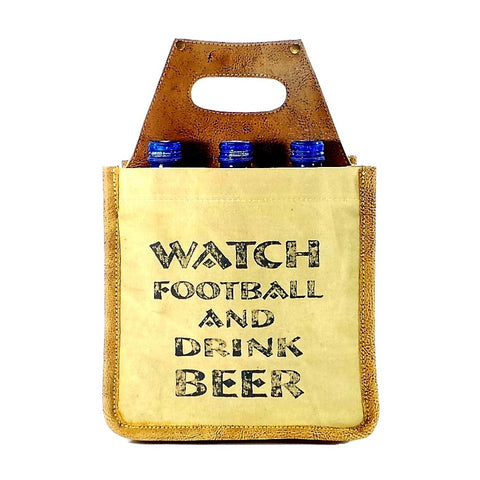 Watch Football and Drink Beer