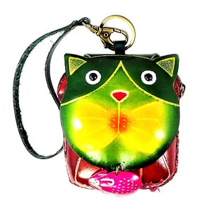 Cat with Mouse Novelty Wristlet (E501)