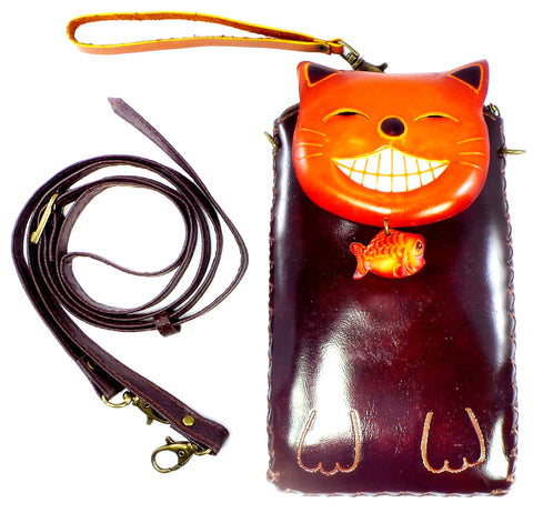 Happy Cat Cross-body Wallet (IH004)