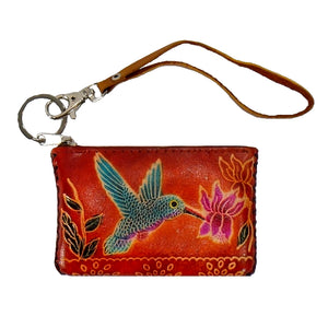 Hummingbird-Small Novelty Wristlet