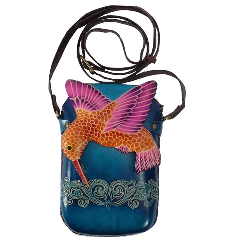 Hummingbird Cross-body Purse (AY30)