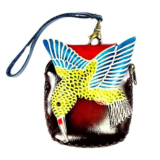 Hummingbird Novelty Wristlet (E566)