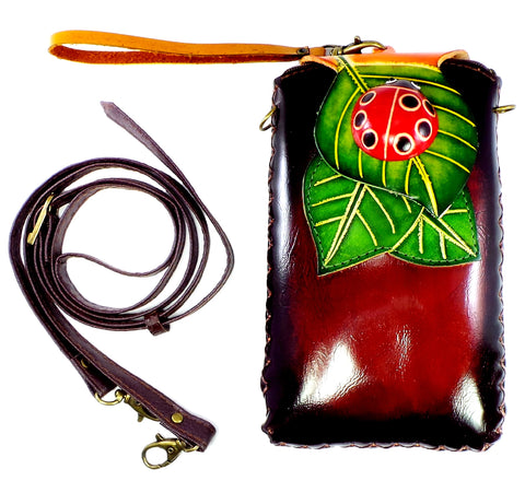 Lady Bug Cross-body Wallet (IH005)