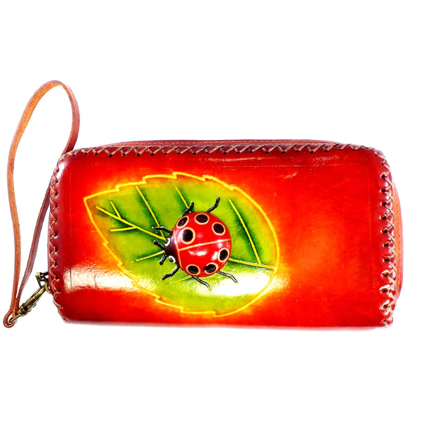 Lady Bug Wristlet Wallet (XLW-7)