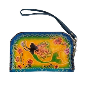 Mermaid-Medium Novelty Wristlet