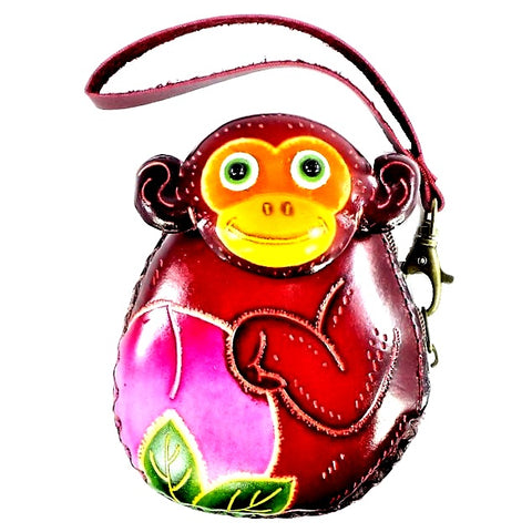 Baby Monkey Novelty Wristlet (E542)