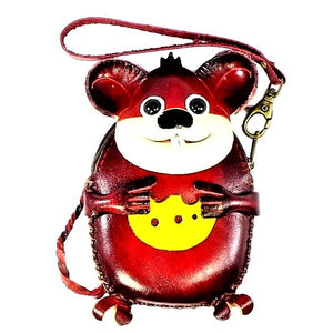 Mouse with Cheese Novelty Wristlet